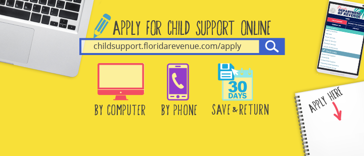 florida dept of revenue child support program